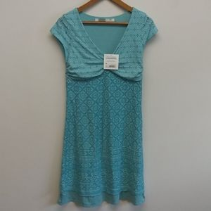 NWT Blue Athleta Dhara Dress